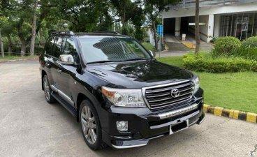 Sell Black 2010 Toyota Land Cruiser in Cebu
