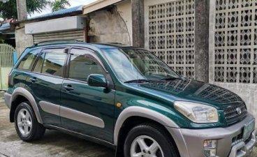 Green Toyota Rav4 2002 for sale in Manila
