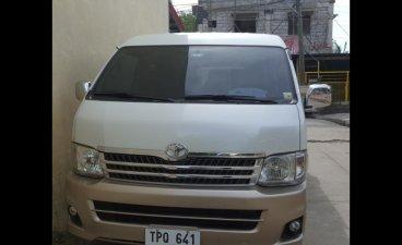 Sell Silver 2012 Toyota Hiace in Muntinlupa