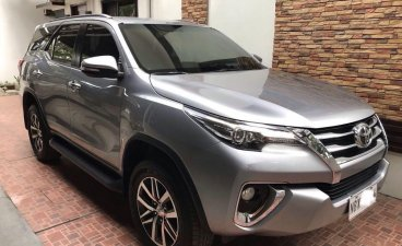 Sell Grey 2017 Toyota Fortuner in Lipa