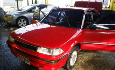 Selling Red Toyota Corolla in Quezon City