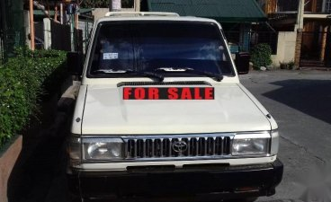 White Toyota tamaraw for sale in Rodriguez
