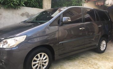 Grey Toyota Innova for sale in Cavite