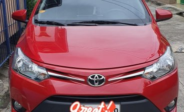 Red Toyota Vios for sale in Manila