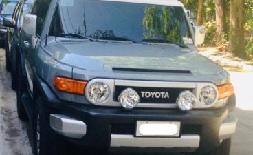 Sell Silver Toyota Fj Cruiser in Manila