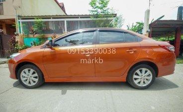 Orange Toyota Vios for sale in Manila