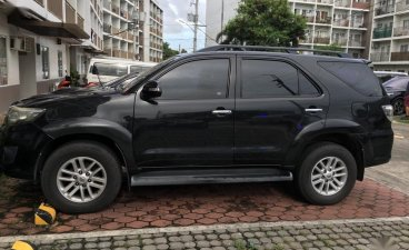 Sell Black Toyota Fortuner in Parañaque