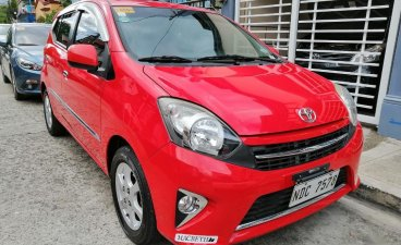 Red Toyota Wigo for sale in Manila