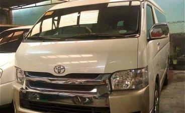 Selling Pearl White Toyota Grandia 2018 in Quezon City