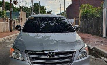 Silver Toyota Innova 2016 for sale in Manila