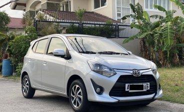 White Toyota Wigo for sale in Manila