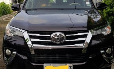 Black Toyota Fortuner for sale in Pasig