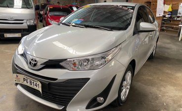 Silver Toyota Vios for sale in Manila