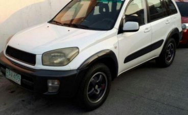 White Toyota Rav4 for sale in Manila