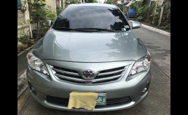 Selling Silver Toyota Corolla altis 2013 in General Trias