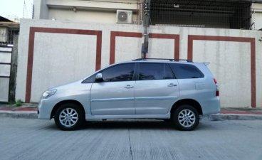 White Toyota Innova for sale in Quezon City