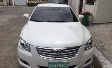 Sell White 2007 Toyota Camry 2.4 (A) in Parañaque