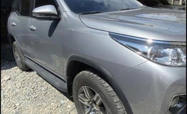 Selling Grey Toyota Fortuner  4x2 G Auto 2019 in Manila