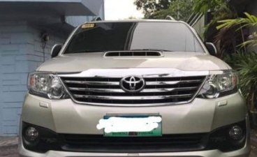 Sell Silver 2013 Toyota Fortuner 2.7 (A) in Manila