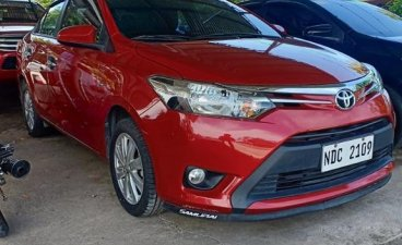 Red Toyota Vios 2017 for sale in Santiago