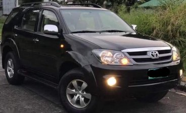 Selling Black Toyota Fortuner 2016 in Parañaque