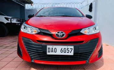 Red Toyota Vios 2020 for sale in Santiago