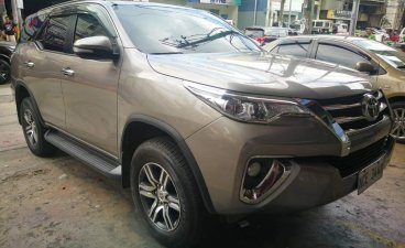 Silver Toyota Fortuner 2017 for sale in Quezon City