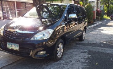 Black Toyota Innova 2009 for sale in Quezon City