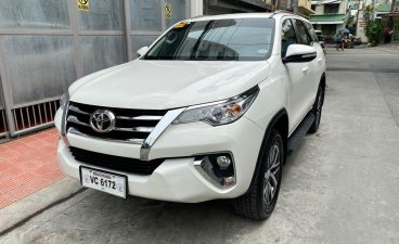 Selling White Toyota Fortuner 2016 in Mandaluyong