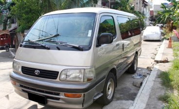 Silver Toyota Hiace 2010 for sale in Quezon City