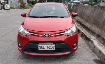 Red Toyota Vios 2017 for sale in Manila