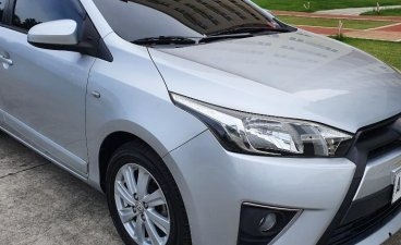 Silver Toyota Yaris 2016 for sale in Valenzuela City