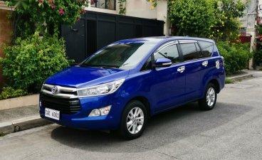 Selling Blue Toyota Innova 2017 in Mandaluyong