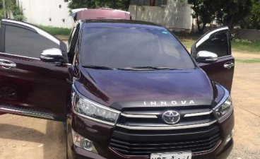 Sell Black 2017 Toyota Innova in Taguig