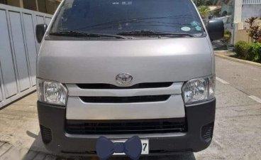 Selling Silver Toyota Hiace 2017 in Malabon
