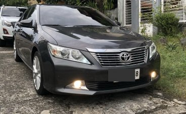 Sell Black 2015 Toyota Camry in Quezon City