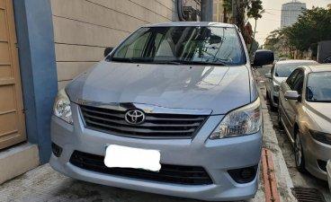 Silver Toyota Innova for sale in Quezon City