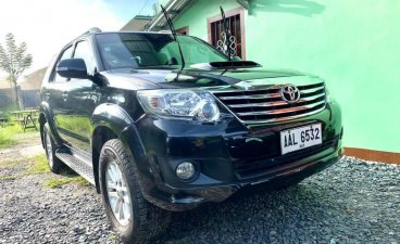 Sell Black 2014 Toyota Fortuner in Manila