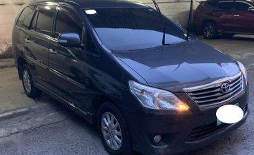 Sell Black 2013 Toyota Innova in Mandaue