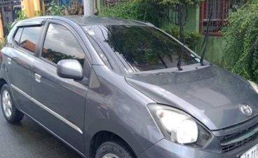 Sell Grey 2014 Toyota Wigo in Quezon City