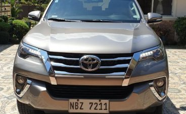 Silver Toyota Fortuner for sale in Manila