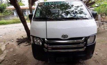 White Toyota Hiace for sale in Davao