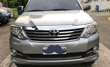 Silver Toyota Fortuner for sale in Cainta