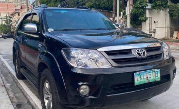 Black Toyota Fortuner for sale in Concepcion
