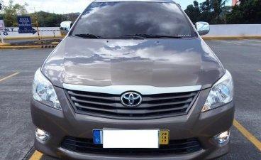 Brown Toyota Innova 2013 for sale in Manila