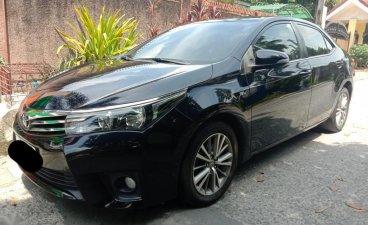Sell Black 2015 Toyota Corolla Altis in Quezon City