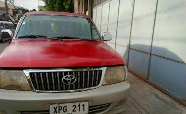 Selling Red Toyota Revo 2004 in Manila