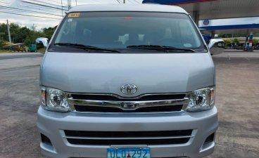 Selling Silver Toyota Hiace in Las Piñas