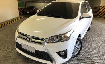 White Toyota Yaris 2017 for sale in Manila