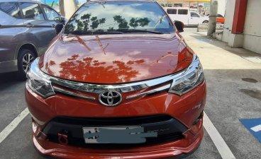 Selling Orange Toyota Vios in Antipolo